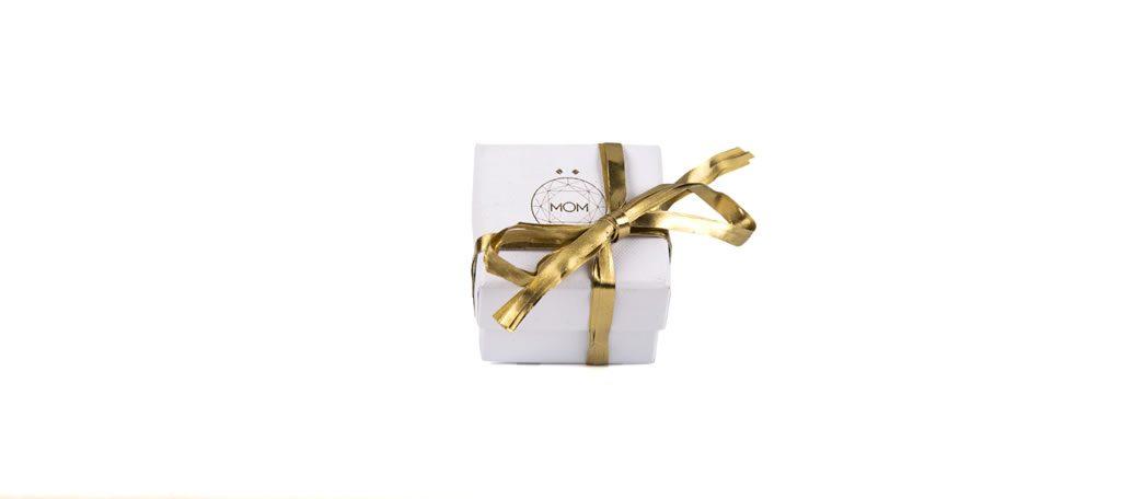 Caja para anillos de plata y oro