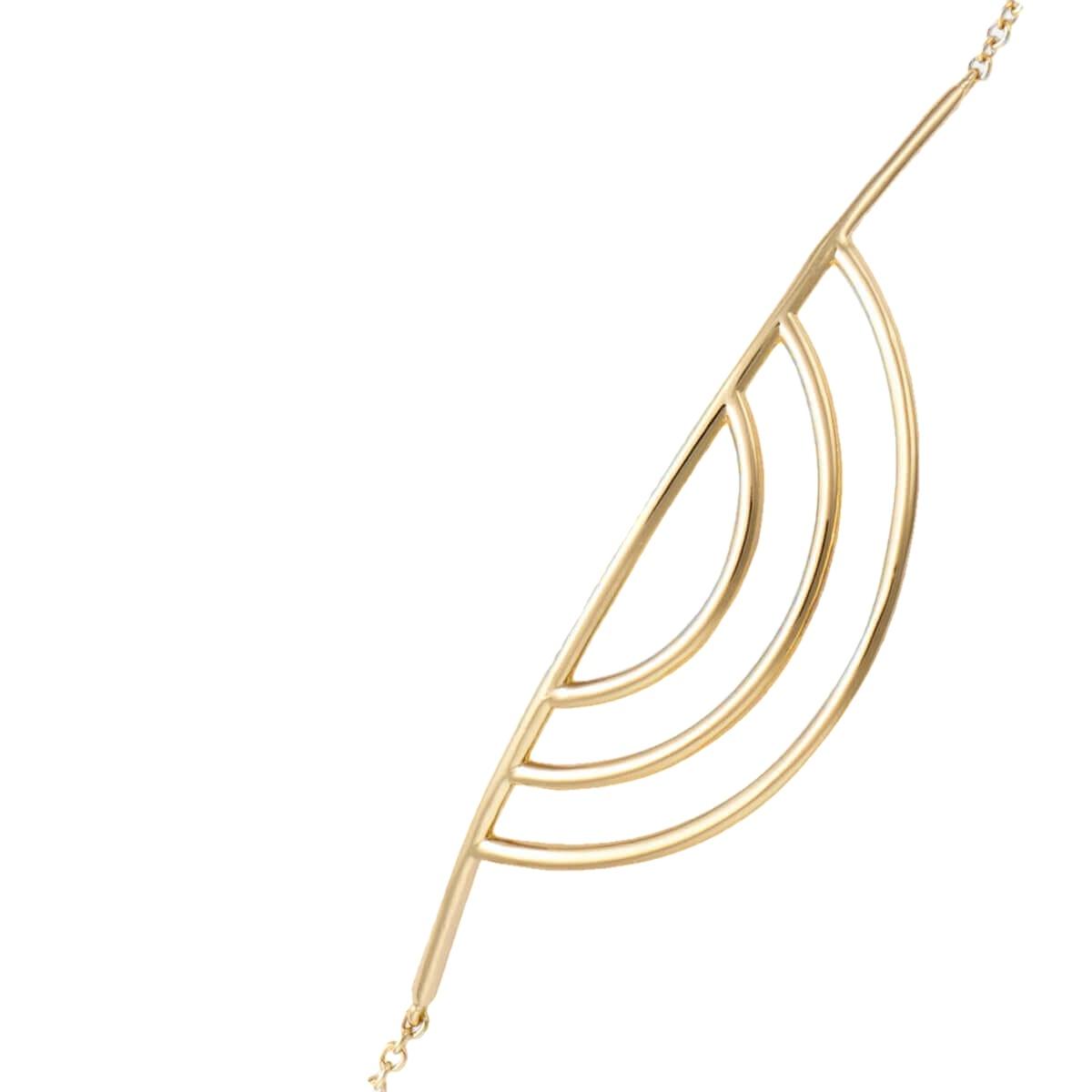 Semicirculos oro