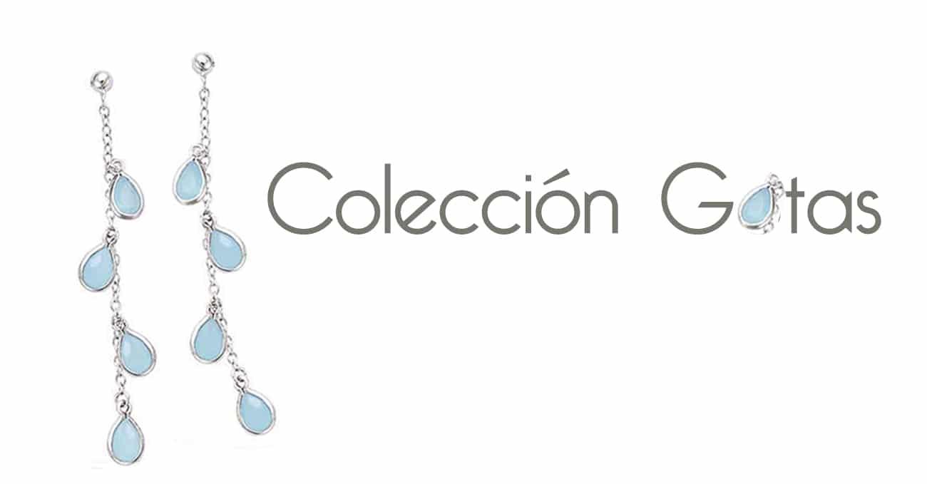 colección de joyas de gotas